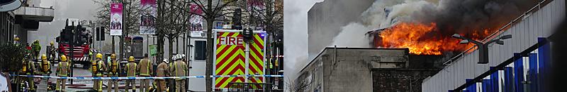 IN Pictures — Massive Fire In Sauchiehall Street, Glasgow