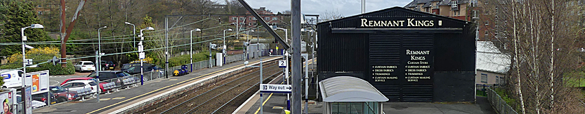 GREEN Signal For Joinery Workshop And Furniture Showroom Beside Platform Two At Jordanhill