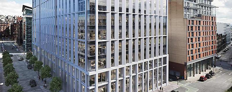 DESIGNS For £100Million Glasgow City Centre Office Building Revealed