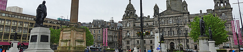LARGE-Scale Sculpture For George Square During Glasgow 2018 European Championships