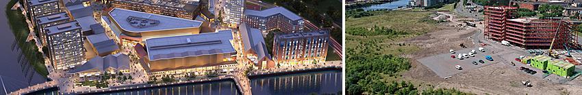 MASSIVE 'Next Generation' Lifestyle Retail And Leisure Outlet Proposed For Glasgow Harbour Site