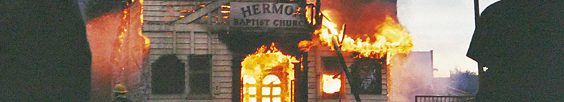 IN Pictures — Look Back To Glasgow Church Blaze In 2001