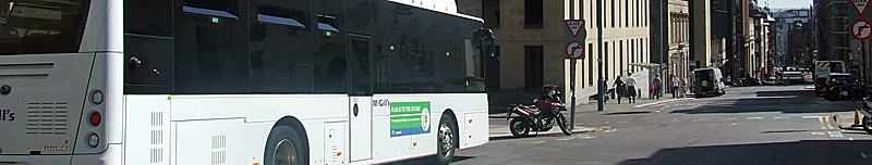 PIONEERING Electric Bus Trial In Glasgow By McGill's