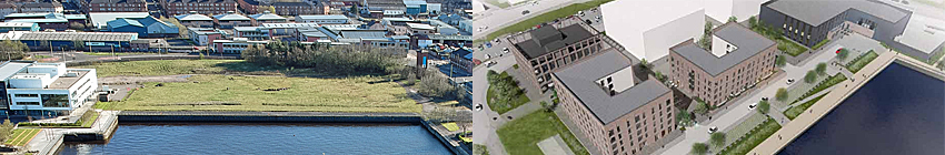 OFFICES, Flats, Restaurants And Micro-Distillery With Visitor Centre Proposed For Glasgow Waterfront Site