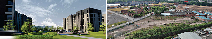 GO-Ahead Given For Nearly 240 Apartments At Rundown Dalmarnock Site