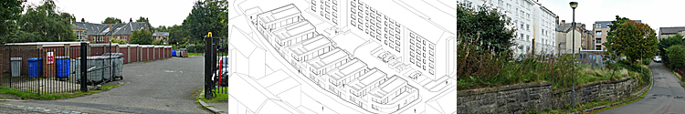 MEWS-Style Properties Proposed For Site Near Great Western Road