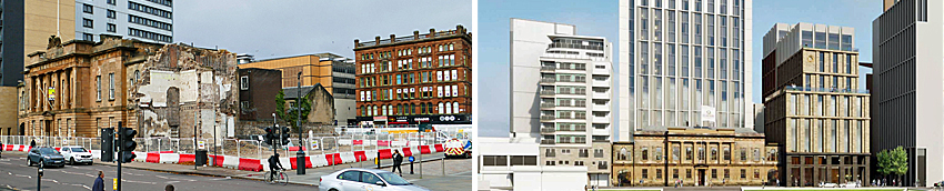 £90MILLION Hotel Development At Glasgow Custom House Site Gets Go-Ahead