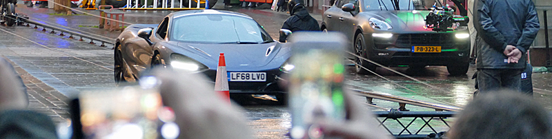 IN Pictures — Day One Of Hobbs And Shaw Filming In Glasgow