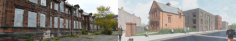 APPROVAL For 49 Homes At Old Cathcart School Despite No Parking Spaces