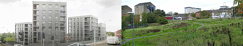 GO-Ahead Given For Flats Near Canal At Maryhill