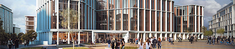 UNIVERSITY Start First Building At New Campus On Western Infirmary Site