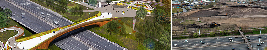 £19MILLION M8 Footbridge Project Due For Completion In August 2021