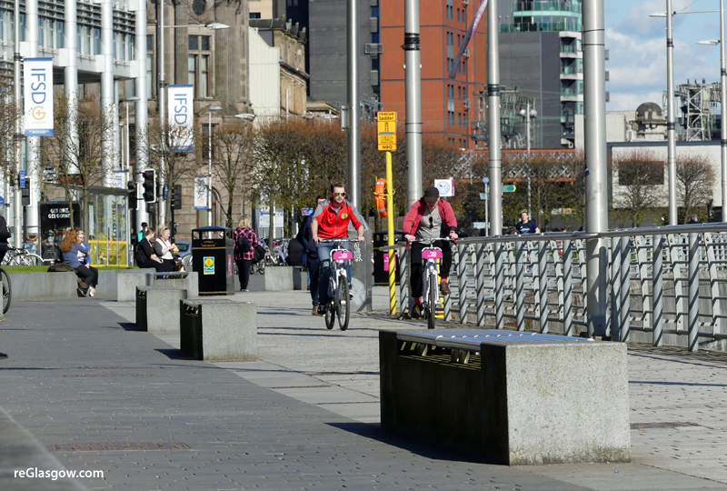 GLASGOW Cycle Scheme Getting New Stations And Upgraded Fleet