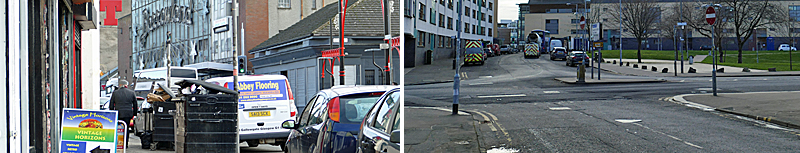 WIDER Pavements And New Traffic Lights Among Calton Public Realm Measures
