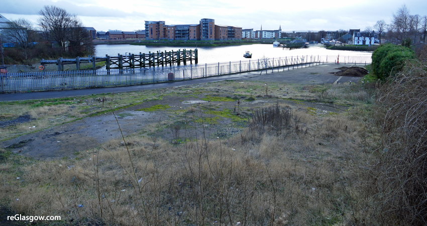 PLAN For Housing Beside Clyde At Yoker Ferry Is Refloated