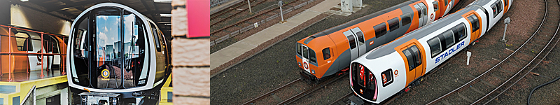 MAJOR Milestone For Glasgow Subway As First New Train Arrives