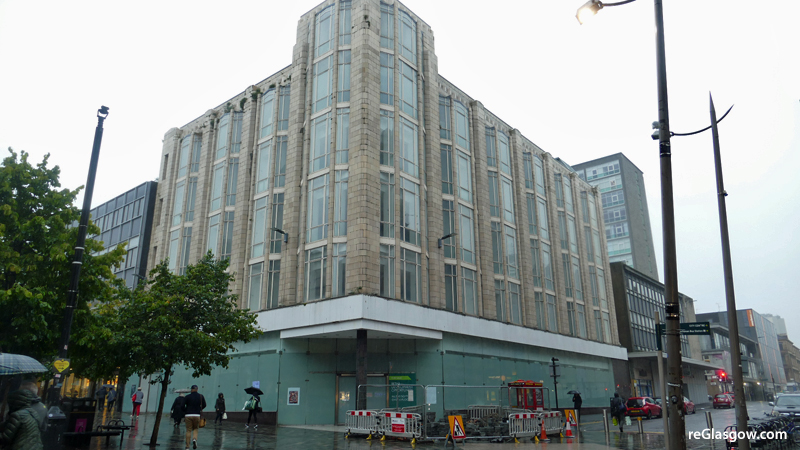 DEVELOPER Withdraws Plan To Turn Empty City Centre Store Into Hotel