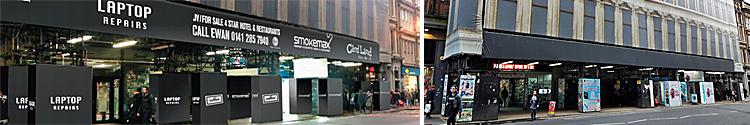 """COUNCIL Refuses """"Obtrusive"""" Egyptian Halls Shop Signs Bid"""
