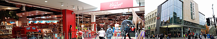 INDOOR Mini-Golf Lined Up For St Enoch Centre As Hamleys Downsize