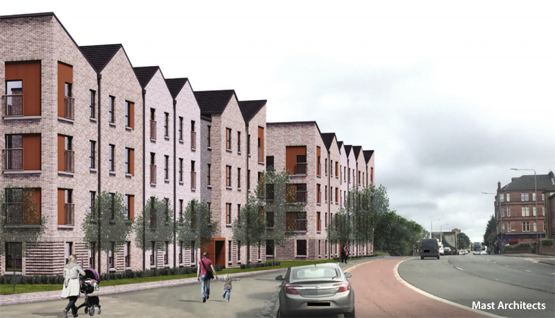 GO-Ahead Given For Major Flats Development In Yoker