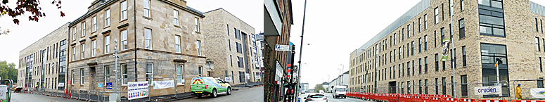 RESTORED Mansion Is Centrepiece Of Flats Development At Glasgow Green