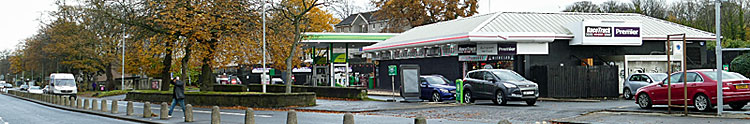 SHOP/Cafe Expansion Plan For Ibrox Filling Station