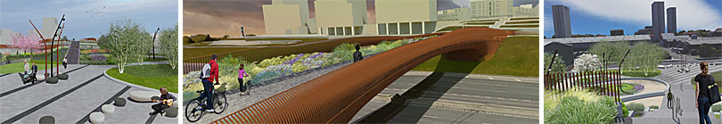 IN Pictures — Approved Designs For New M8 Cycle And Foot Bridge At Sighthill