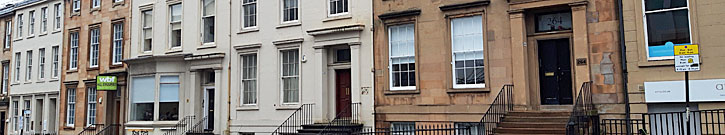 SERVICED Apartment Plan For Empty Townhouse Office Premises