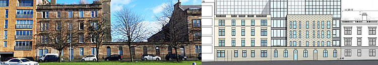 FACADE Of Historic Ex-Hotel Beside Glasgow Green Would Be Preserved Under Plan For 45 Flats