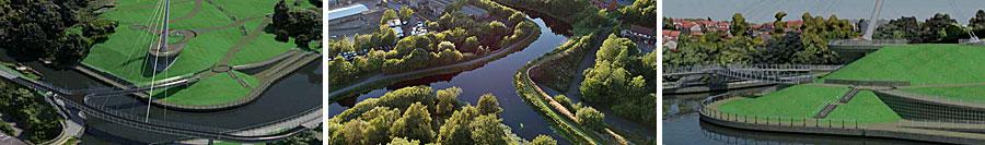 LANDMARK Glasgow Canal Bridge And Embankment Park Gets Planning Approval