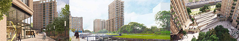MASSIVE Canalside 'Landmark' Apartments Plan Includes 20-Storey Tower