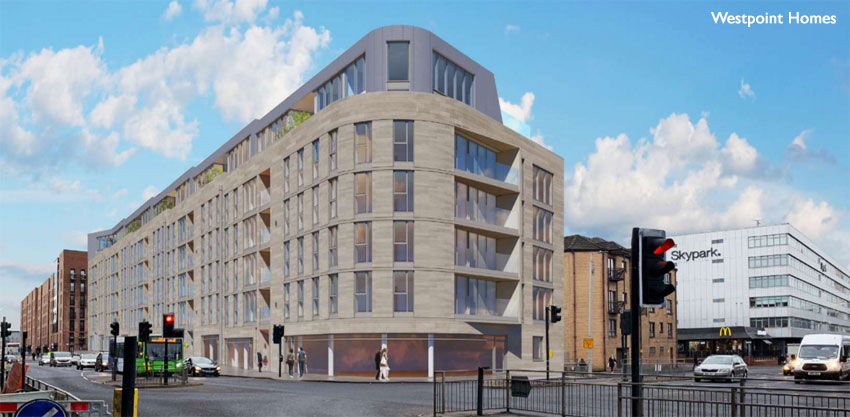 'CONTEMPORARY Tenement' Plan For Police Station Site Is Arrested For 'Overdevelopment'
