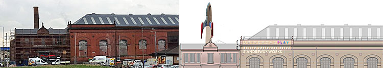 LIFT-Off Awaited For Inflatable Rocket At Listed Building Play Centre