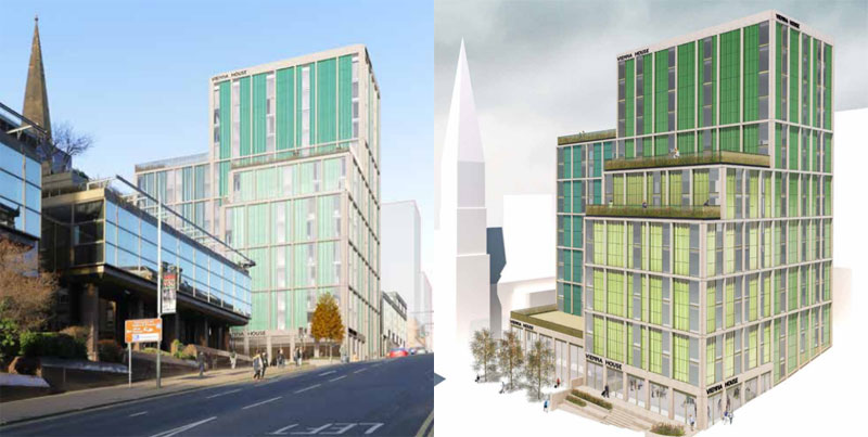 DEVELOPER Now Proposing City Centre's First Serviced Studio Complex Instead Of Hotel