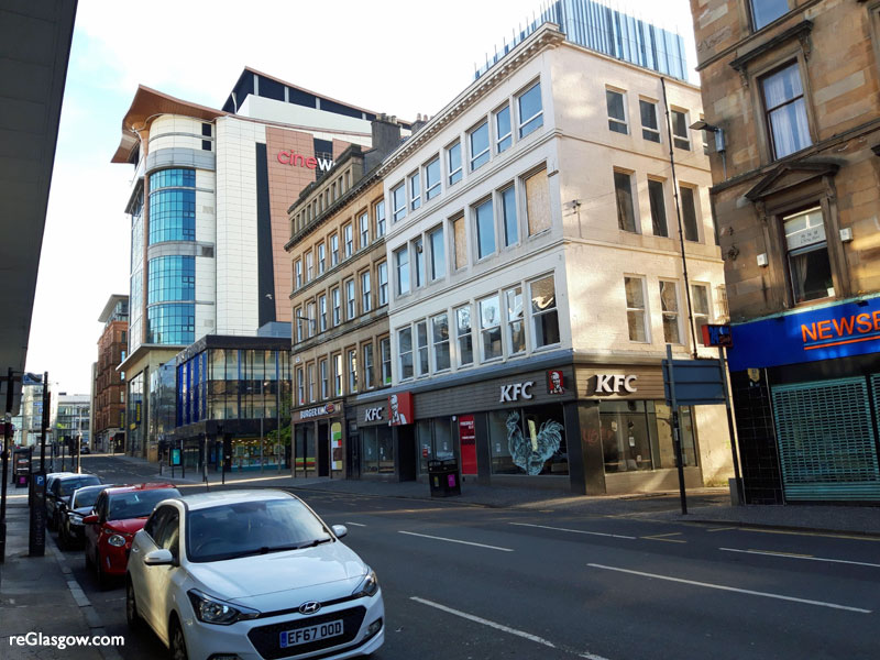 PERMISSION Given For Flats Above City Centre KFC