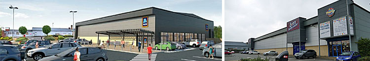 SUPERMARKET Chain Reveals Proposals For New Foodstore In Govan