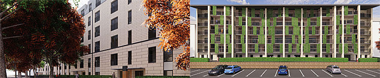 HOUSING Association Flats Proposed For Hostel Site