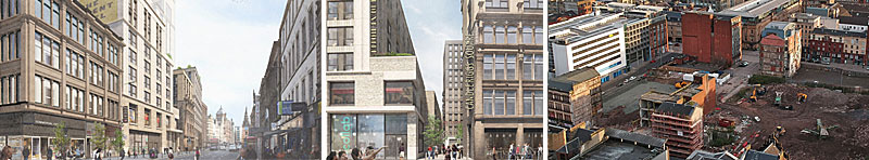 MIXED-Use Transformation Of Massive Merchant City Site Gets Backing From Planners