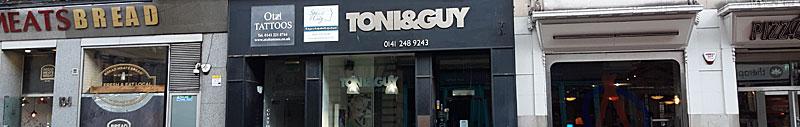 RESTAURANT Plan For City Centre Hairdressers