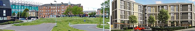 FLATS Development In Parkhead Gets Go-Ahead