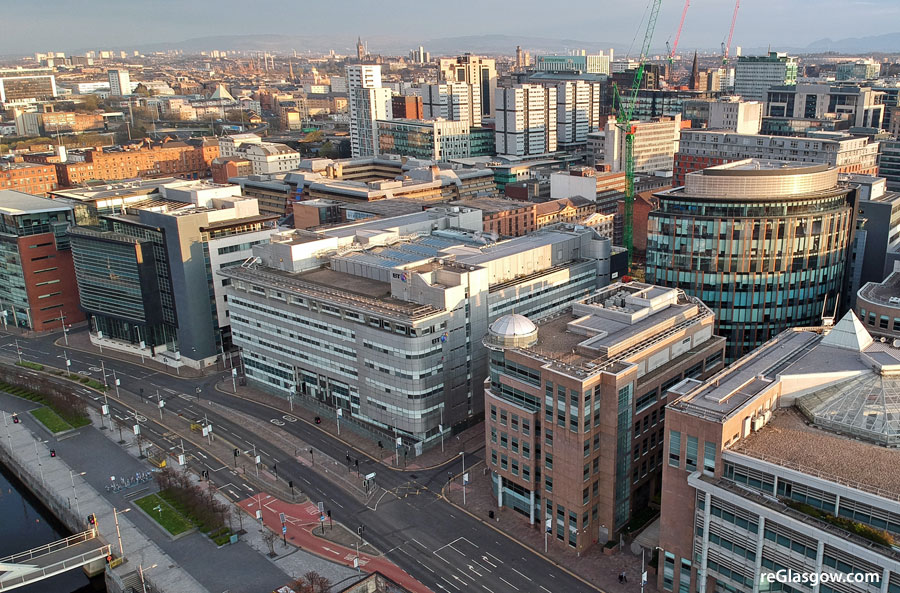 BT Commit To Glasgow With Revamp Announced For Broomielaw Building