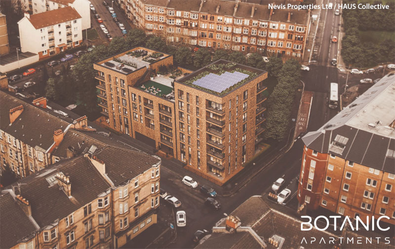 APARTMENT Block With Rooftop Garden Proposed For Maryhill Gap Site