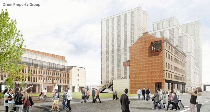 GO-Ahead Given For 'Ambitious' Plans Integrating Historic 'Missing Piece' Building Into The Barclays Glasgow Campus