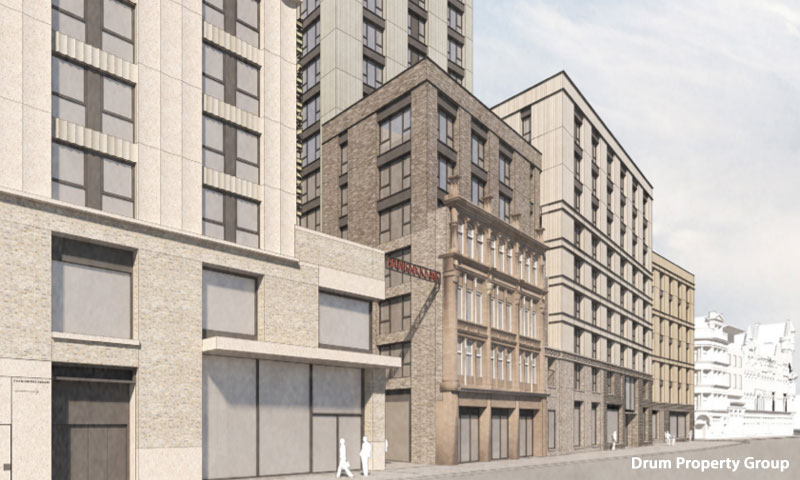 PLANNERS Asked To Approve £81Million 17-Floor Candleriggs Apartment Building