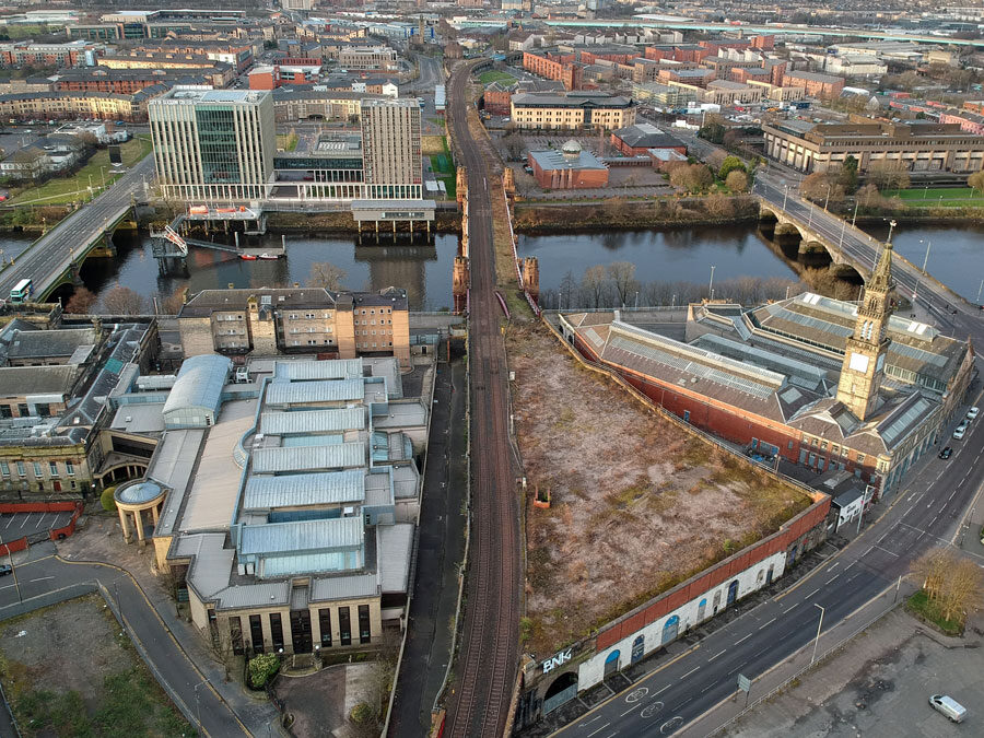 IN Pictures — Glasgow's City Union Railway — Transport Solution Or A 'Linear Park From Dennistoun To The Gorbals'?
