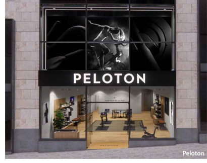 GLASGOW City Centre Shop Unit Lined Up For Scotland's First Peloton Showroom