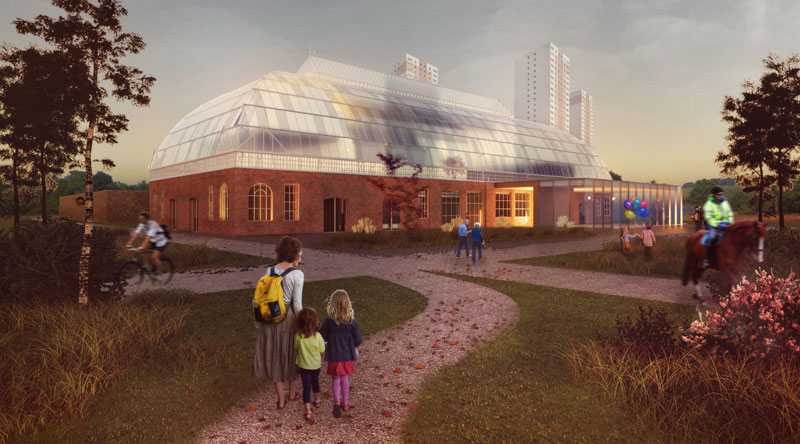 £8MILLION Vision To Turn Derelict Glasgow Winter Gardens Into 'Iconic' Events And Community Venue