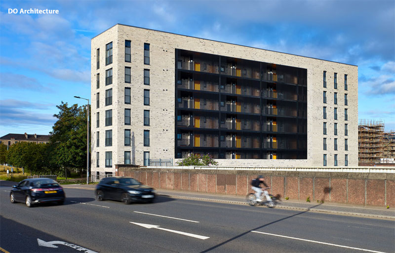 IN Pictures — New Flats At Corner Site On Glasgow's South Side