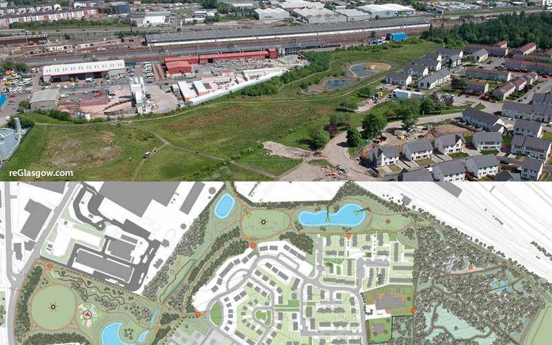 LAND At Toryglen Being Turned Into £3.3Million Adventure Park And 'Urban Oasis'