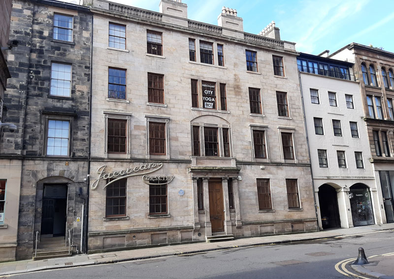 HISTORIC Merchant City Building With Hotel Consent Is On The Market